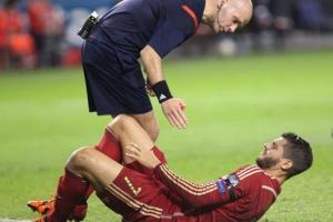 إصابة موراتا في الساق وسيلفا في الكاحل خلال لقاء إسبانيا ولوكسمبرج