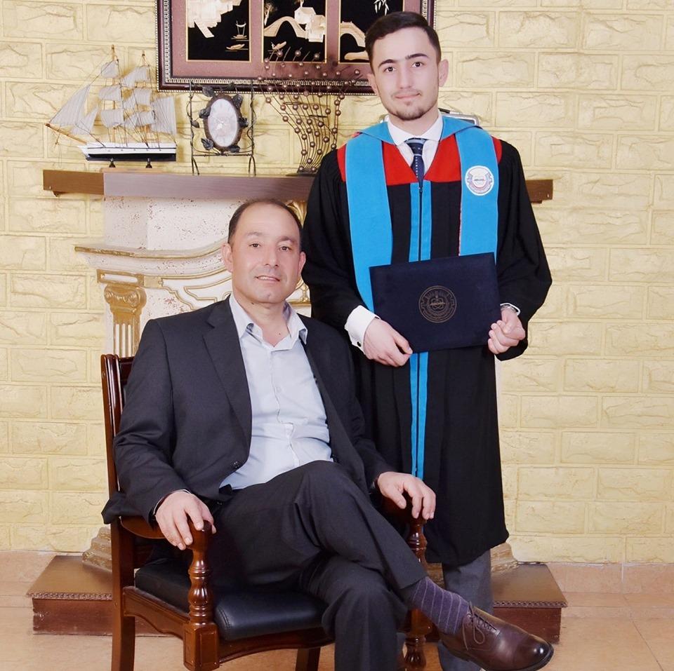 الدكتور محمد ردايدة  ..  مبارك التخرج من كلية الطب