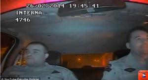 بالفيديو :  لحظة إطلاق النيران على وجه شرطي.. والسبب!!