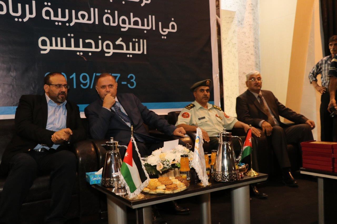 """رئيس """"عمان العربية"""" يرعى بطولة التكونجتسو ويؤكد على أهمية دعم الشباب ..  صور"""