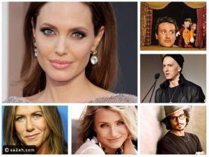 عادات غريبة لمشاهير العالم: أنجلينا جولي تأكل الدود