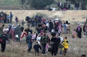 نزوح 210 آلاف سوري خلال 16 يوما