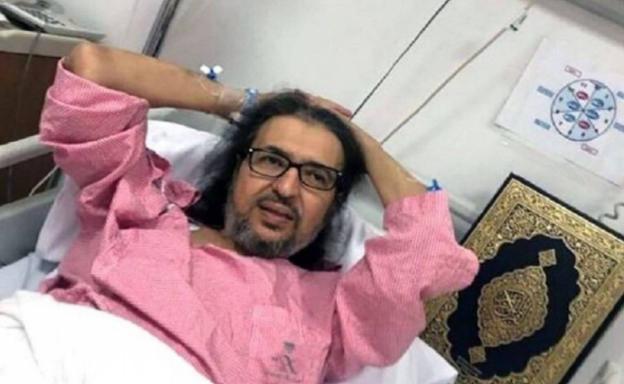 نجل الفنان خالد سامي يكشف تفاصيل حالة والده الصحية