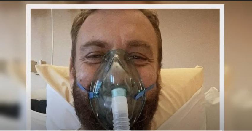 بالفيديو  ..   النجم الإيطالي دي روسي على جهاز الأكسجين بعد إصابته بفيروس كورونا المستجد