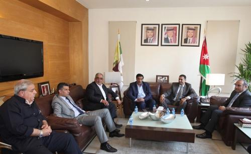 لجنة الخدمات العامة والنقل في مجلس النواب تزور أمانة عمان الكبرى