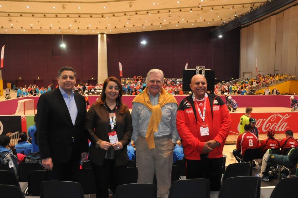 حسين فهمى: فخور بكوني سفير الاولمبياد الخاص الدولي  .. صور