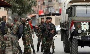 مصرع 170 جندياً نظامياً في حريق بريف حماة