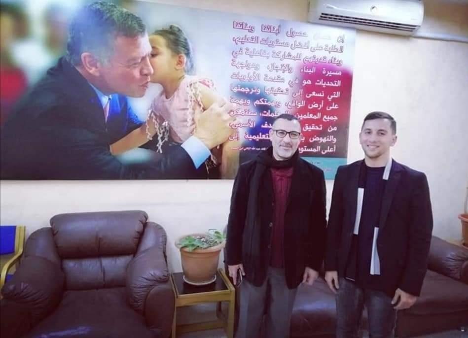 شوكت المرازقه  ..  مبارك بمناسبة المنصب الجديد مستشارًا في مركز الوزارة