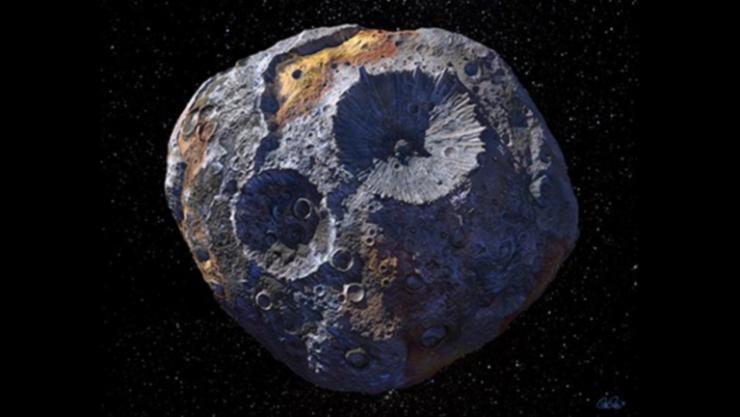 اكتشاف مثير حول كويكب تسعى له ناسا في مهمة 'الرحلة إلى عالم المعادن'!