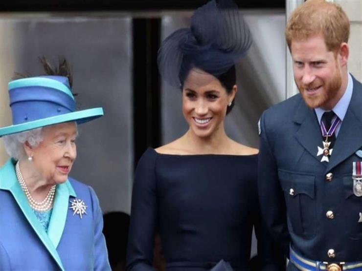"""رسميا ..  ملكة بريطانيا: هاري وميجان ليسا من """"أصحاب السمو"""""""