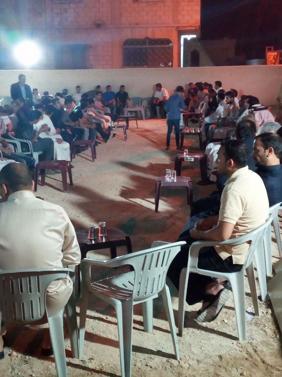 افتتاح المقر الانتخابي لكتلة الوفاق عن بلدية الزعتري والمنشية