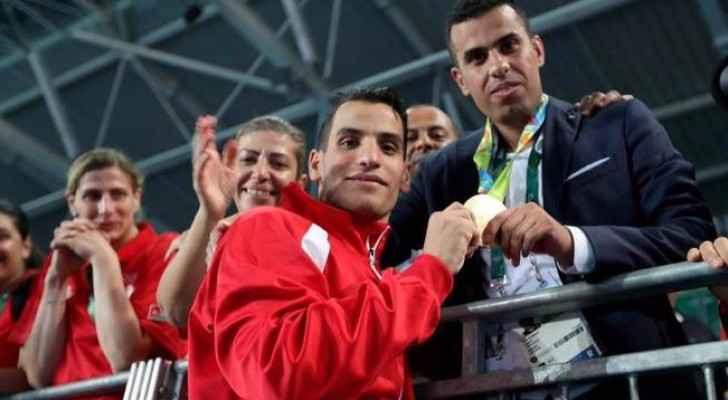 ابو غوش ومدربه يغادران للمشاركة ببطولة الفجيرة
