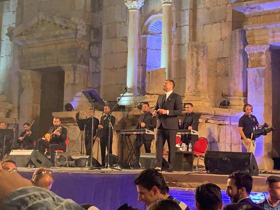 """الفنانان اللبناني كفوري والأردني جبور يحييان حفلين غنائيين على """"الجنوبي"""" بـ""""جرش"""""""