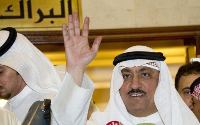 النائب السابق مسلم البراك يخرج من السجن