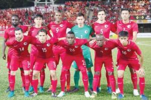 المنتخب الوطني يواصل تحضيراته لمواجهة هونغ كونغ وديا غدا