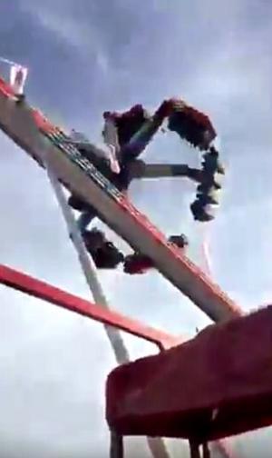 بالفيديو.. مقتل شخص وجرح 7 إثر حادث في لعبة ملاهٍ بأوهايو