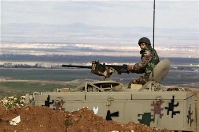 الجيش يضبط متسلل من سوريا