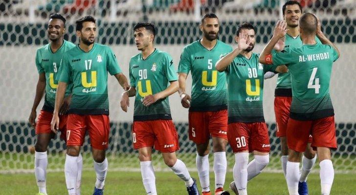 ثبوت إصابة 14 لاعبا و 11 إداريا من نادي الوحدات بكورونا