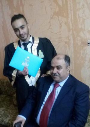 الشاب أحمد النمراوي ...مبارك التخرج