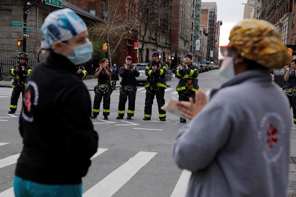 """تسجيل 562 حالة وفاة جديدة ب""""كورونا"""" في ولاية نيويورك"""
