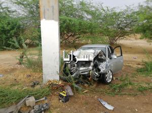 بالصور ..  وفاة شخص وإصابة أربعة آخرين اثر حادث تدهور في البحر الميت