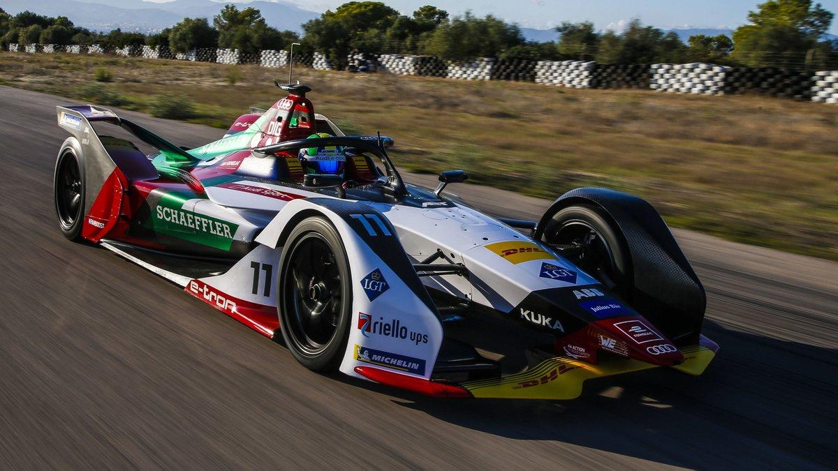 بالفيديو ..  والصور ..  أودي تكشف عن سيارتها الجديدة من الجيل الثاني للموسم الخامس لبطولة الفورمولا إي