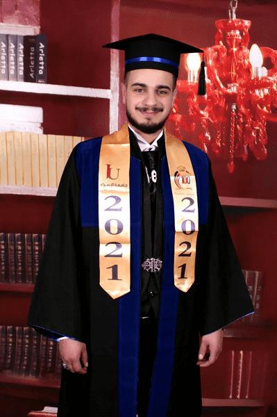 محمد الدراويش  ..  مبارك التخرج