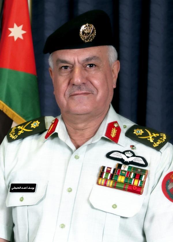 الحنيطي ورئيس أركان الجيش السوري يبحثان أمن الحدود المشتركة