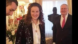 بالفيديو والصور ..  شاهد حفل عقد قران ابنة آخر ملوك مصر