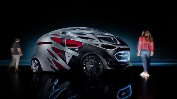 مرسيدس تستعرض سيارة المستقبل