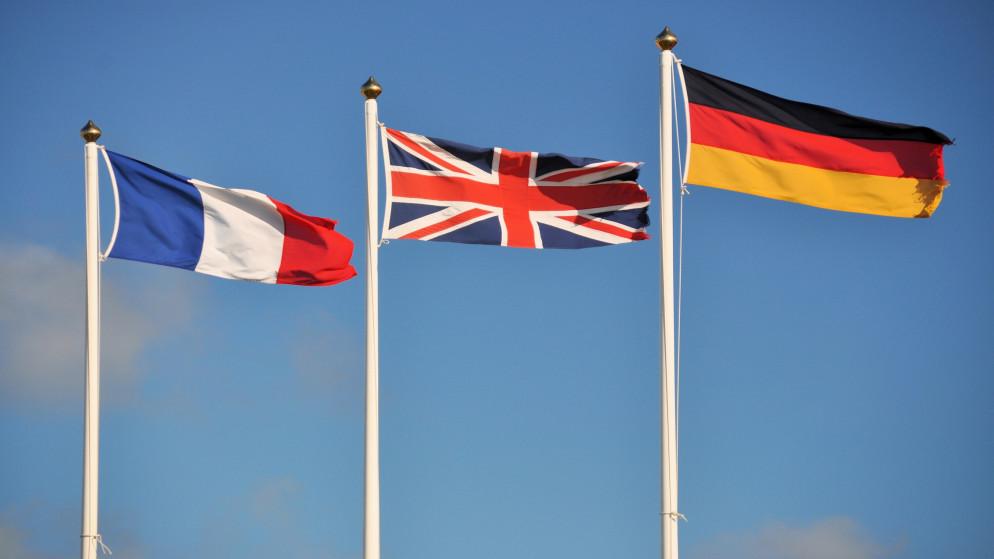 قلق فرنسي بريطاني ألماني من خطوات تخصيب اليورانيوم الإيرانية
