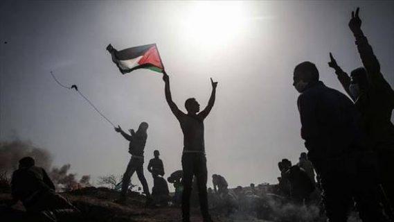 69 اصابة جراء اعتداء الاحتلال على مسيرات العودة شرق غزة