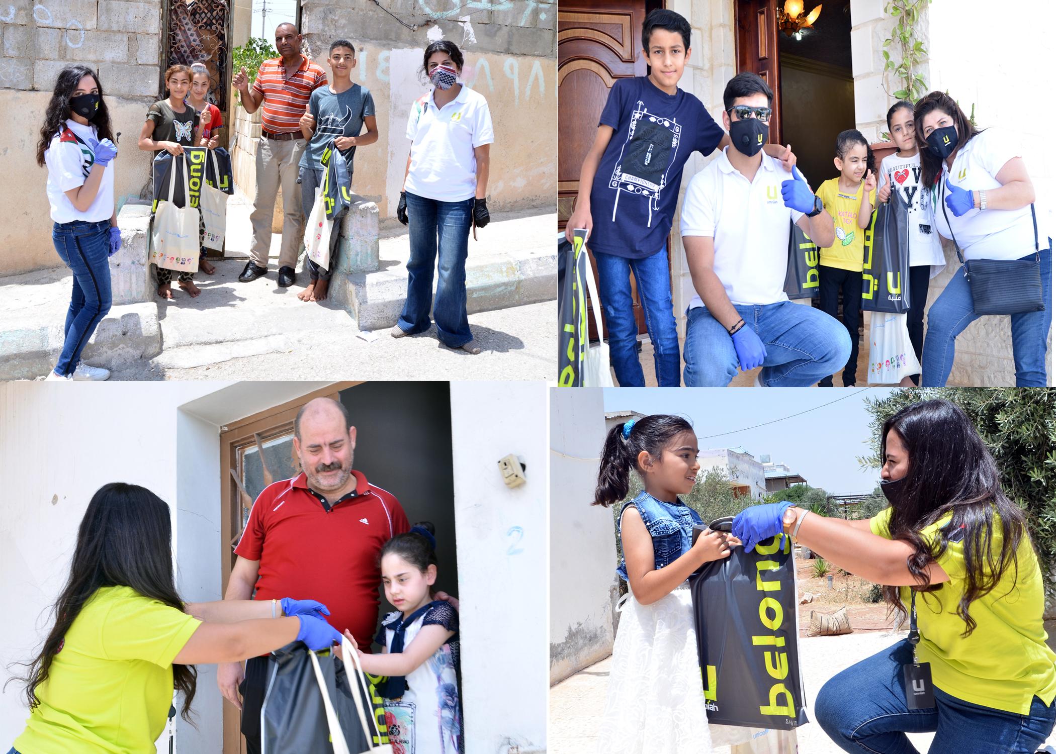 """أمنية بالتعاون مع """"الهيئة الوطنية لإزالة الألغام"""" توزع هدايا العيد على الأطفال في محافظات المملكة"""