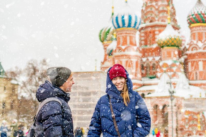 بالصور  ..  السياحة في موسكو في الشتاء
