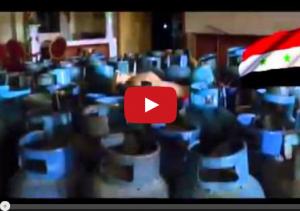 """بالفيديو.. لحظة تفجير قصر """"رستم غزالي"""" بكميات كيبرة من المتفجرات واسطوانات الغاز"""