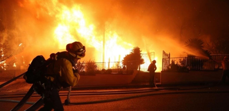 اطفاء جميع الحرائق في لبنان