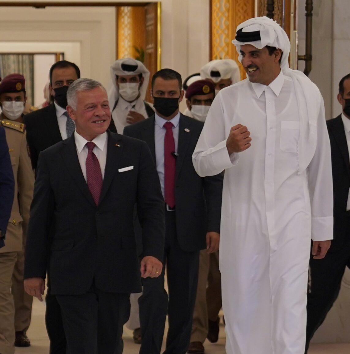 """الصحافة القطرية تشيد بالعلاقات الأردنية القطرية وتصفها بـ""""الخندق الواحد"""""""