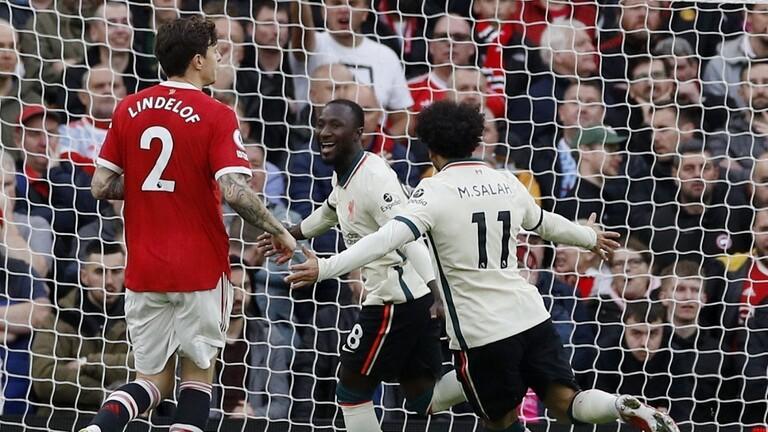ليفربول يصعق مانشستر يونايتد بهدفين