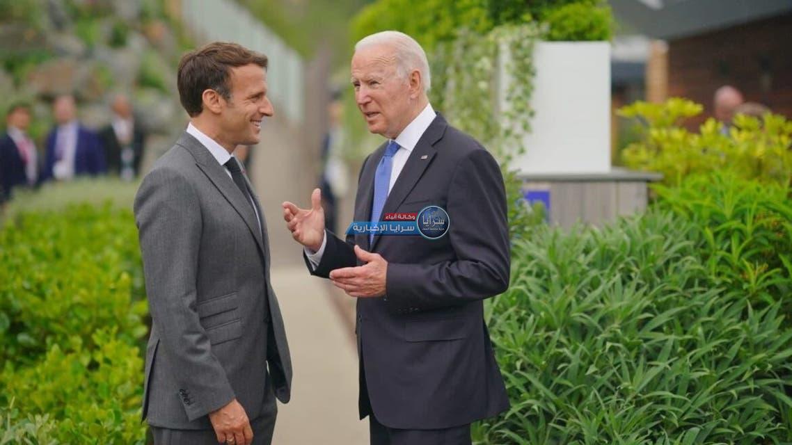 مسؤولون: بايدن يريد إنهاء الخلاف مع فرنسا سريعاً والأخيرة تريد تعويضات