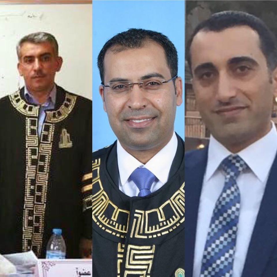 """مبارك لـكل من : الدكتور """"سيف الشبيل """" والدكتور محمد الحدب"""" والدكتور عبد الرحمن الدلابيح """""""