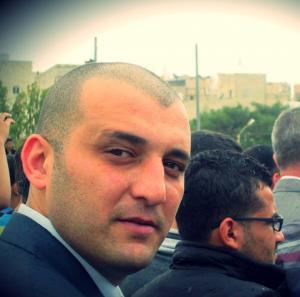 """الدكتور أشرف أبو عين """"عميداً  للشؤون الطلابية لكلية الهندسة التكنولوجية"""""""