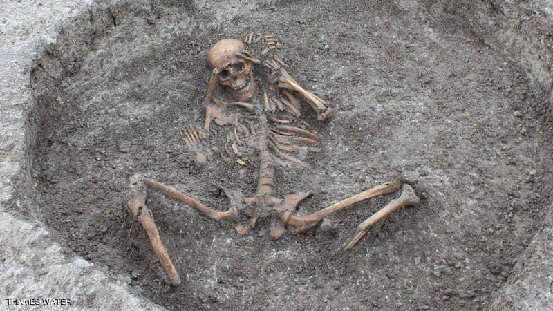 العثور على هياكل عظمية لقرابين بشرية في العصر الحديدي