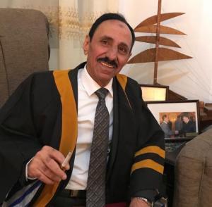 الدكتور الإذاعي أحمد عيد الرواضية .. مبارك الدكتوراه