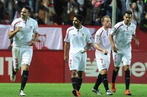 إشبيلية يقطع اكثر من نصف الطريق نحو نهائي كأس إسبانيا