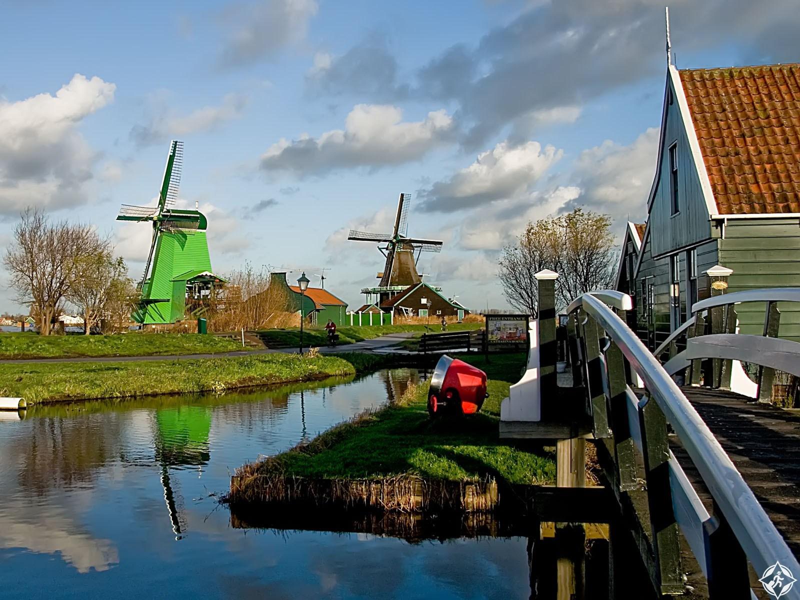 بالفيديو والصور ..  رحلة إلى الأسطورة الهولندية ..  شانس زانسي