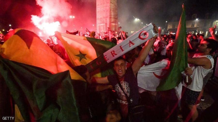 (4) قتلى و (8) اصابات  باحتفالات تأهل الجزائر لامم افريقيا