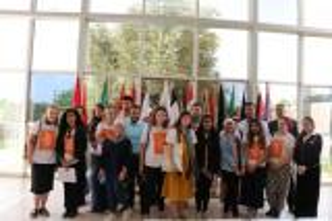 طلبة الشرق الاوسط يتبادلون الخبرات مع نظرائهم البريطانيين