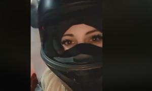 """مصرع """"عاشقة الدراجات النارية"""" الجزائرية بحادث سير"""