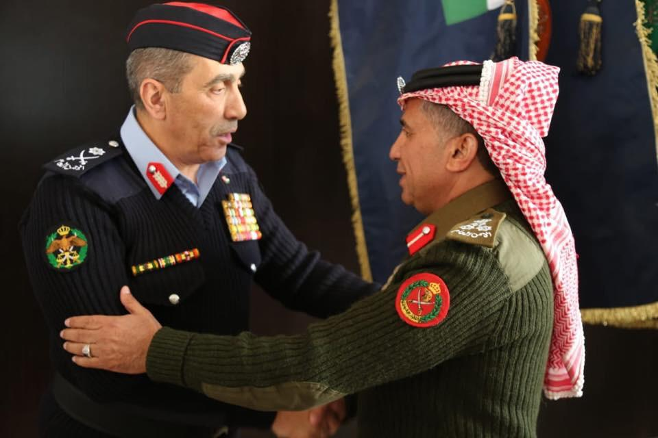 العميد محمد سالم العرينات  .. مبارك الترفيع