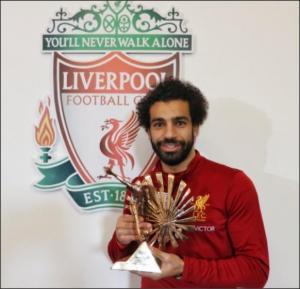 محمد صلاح يتوج بجائزة أفضل لاعب افريقي في استفتاء BBC